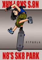tearin up the skate park by taneel