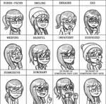 Pixiv Expression Meme: Chloe by taneel