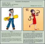 Character Development Meme by Kamakru: Joy by taneel