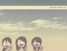 Nice Girls 1024x768 version by taneel
