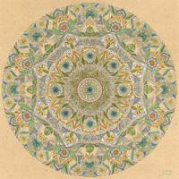 Blue Green Mandala by bgerr