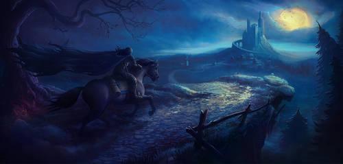 Witcher fanart by AsyCat