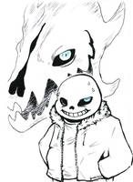 undertale - you're gonna have a bad time by lyoth737