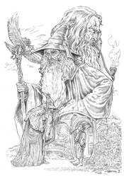 Gandalf by NachoCastro