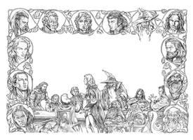 elrond council by NachoCastro
