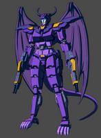 Leona Moonstorm - Robot Mode by GrungeWerXshop