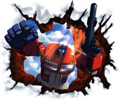 Optimus Prime - Make Way by GrungeWerXshop
