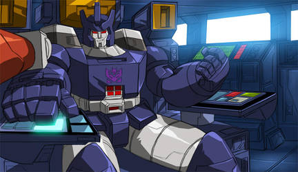 Behold, Galvatron - Commission by GrungeWerXshop