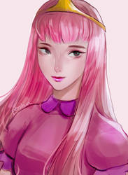 princess bubblegum by pershun