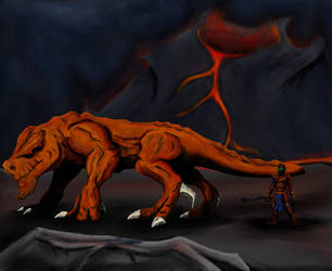 The Garngorg - Lava Creature by Ryan-TheGrav-Berry