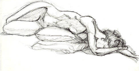 Life Drawing by Ryan-TheGrav-Berry