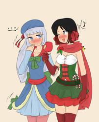Preparing the Christmas by Tikoriko