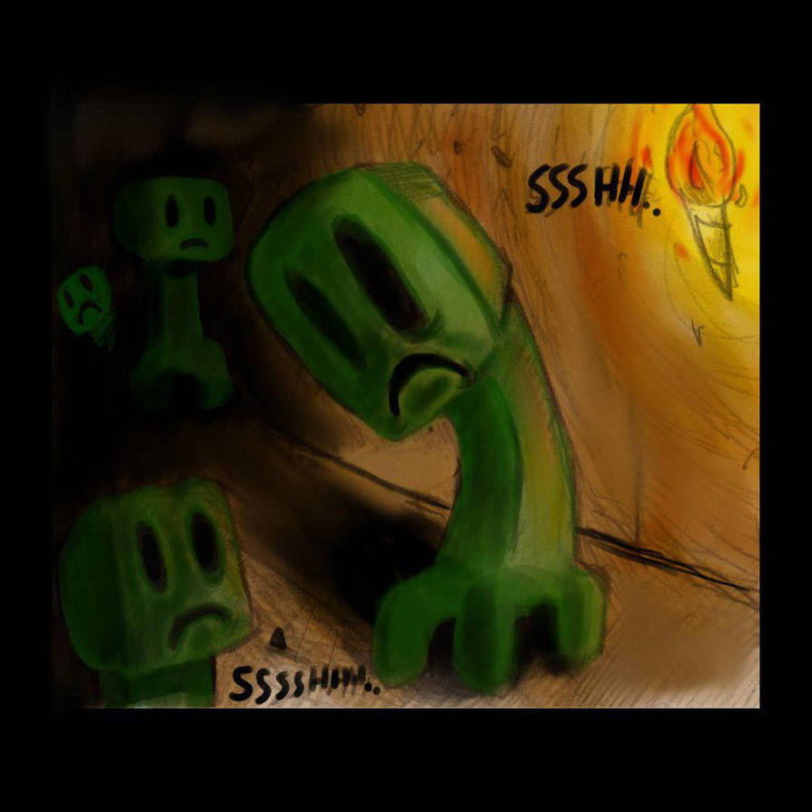 Minecraft: creepers by Umbah