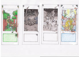 Set of bookmarks by Umbah
