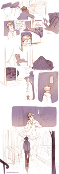Teen Sherlock The sign of three by DrSlug