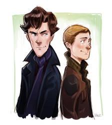 Teen Sherlock by DrSlug