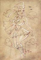 Super Girl by CaziTena