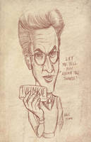 R.I.P. Harold Ramis aka Egon by CaziTena