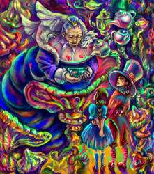 Iroh in Wonderland by solar-sea