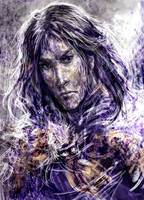 Jon Snow by solar-sea