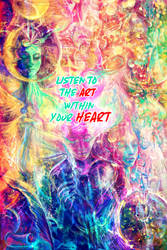 Listen to the Art within your heART by solar-sea