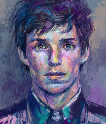 Eddie Redmayne by solar-sea