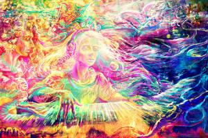 The Artidote - Rainbow Piano by solar-sea