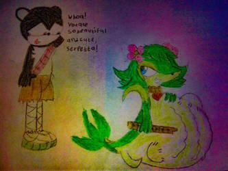 Ned and Serpetta (design update) by xoFehTzamlA