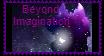 ~Beyond Imagination stamp~(REDO) by GalaticKaiju