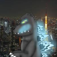 ~Godzilla~ by GalaticKaiju