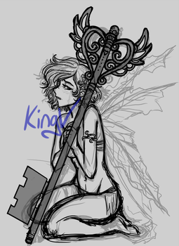 Fairy WIP by kingv