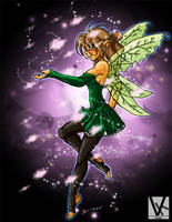 Mystic Fairy by kingv