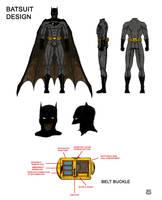 Batsuit Design by WillRipamonti