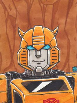 Bumblebee Sketch Card by WillRipamonti