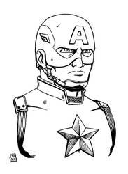 Captain America by WillRipamonti