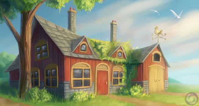 Gretchen's house. by Kayas-Kosmos