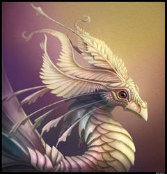 Mother of Pearl Dragon. by Kayas-Kosmos