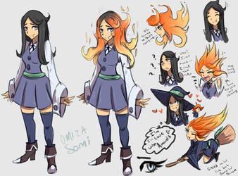 New OC: Little Witch Academia Zz by Omiza-Zu