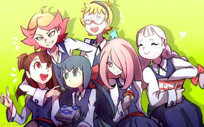 LWA Team Friendships by Omiza-Zu