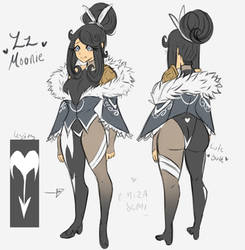 Fairytail OC: Zz Moonie by Omiza-Zu