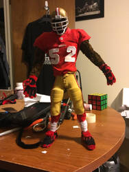 Pipe cleaner Patrick Willis by Hakeem2lari