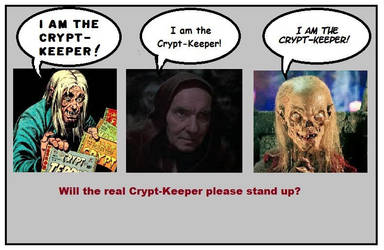 The Real Crypt-Keeper by R-gonz