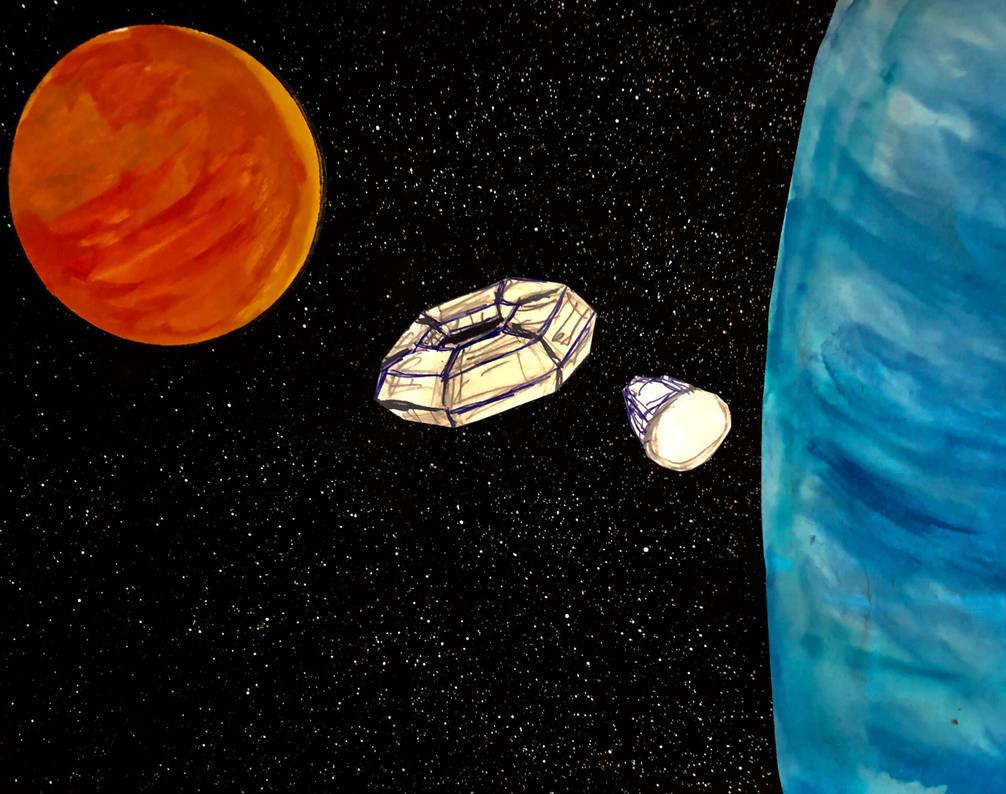 Orbit Station by R-gonz