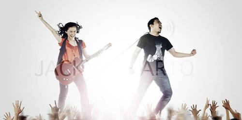 You plus Me equals Rock by jaysu