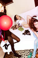 Girls Night in 1 by jaysu