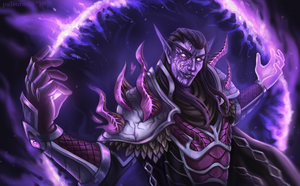 COMMISSION: Koravex, the Black Count by briarhearts