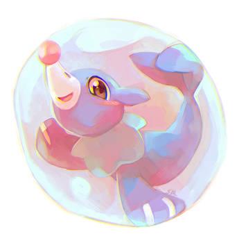 Popplio in da bubble by salanchu