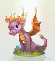 Spyro the Dragon by salanchu