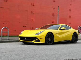 Yellow F12 by S-Amadeaus