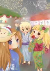 Firework Festival by IchigoRanch